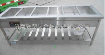 (廠家直銷)不銹鋼六格保溫售飯臺