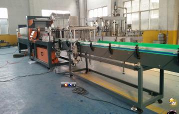 直线式热收缩膜包装机