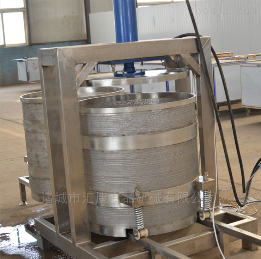 YZ-200L水果收汁压榨桶 大压力蔬菜脱水机