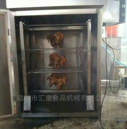 QYX-100型供应电脑控制烟熏箱,牛肉干熏烤箱 熏肉炉