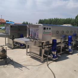 XKJ-4蔬菜盘清洗机,广州料箱清洗设备 洗箱机