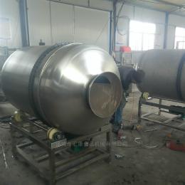 BL-600型滚筒拌料机、大型调味品拌料机、自动出料拌料机