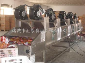 FG-6米果蔬去水風干機  休閑魚干風干機  肉制品包裝袋風干線