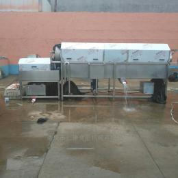 TQX-3米包装袋清洗机 酱菜包装袋清洗机  毛刷式滚筒洗袋机  操作方便