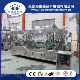 CGF50-50-12厂家供应沙漠之花全自动灌装封口机果汁饮料灌装生产线