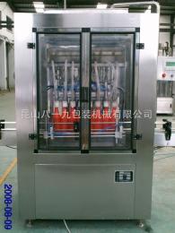K819-NG-8型浓酱自动灌装机