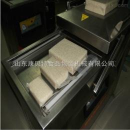大米米磚選用康貝特雙室下凹式真空包裝機