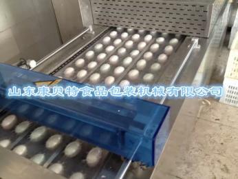 鸡蛋拉伸真空机|鸭蛋全自动连续包装真空机|蛋制品包装机