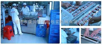 康貝特供應DZ-800型大豆蛋白制品香腸熟食真空包裝機