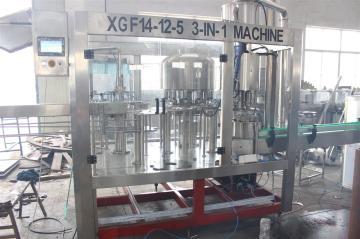 玻璃瓶果汁飲料灌裝生產線