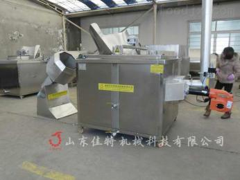 文山麻球油炸设备,自动控温油水混合油炸机