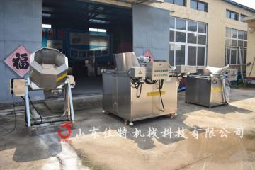 南宁豆干油炸机,多功能燃气油炸设备