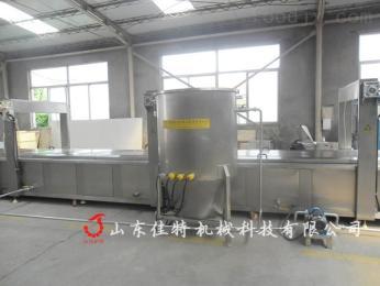 安徽连续式鸡蛋饼干油炸机,油炸设备厂家