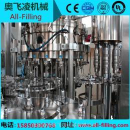 全自動碳酸飲料灌裝機 含氣飲料生產線