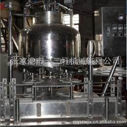 DG-12颗粒果肉灌装机