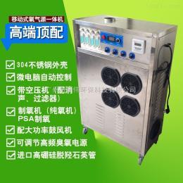 HW-O2-O3-100G带浓度检测仪外置式臭氧发生器