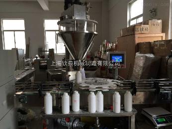 QD-420全自動瓶裝粉末灌裝機生產線