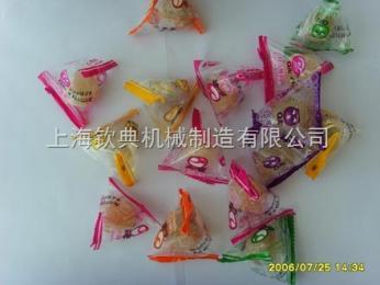 QD-3棉花糖包装机/三角包彩色糖包装机