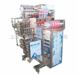 QD-12C药品四列背封高速包装机/砂糖多列包装机