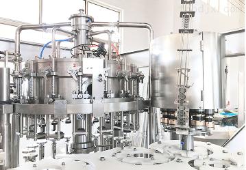 玻璃瓶饮料果汁灌装生产线
