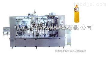颗粒饮料灌装机械结构