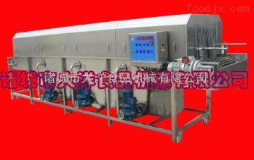 优质网带式洗筐机|盘子消毒机器