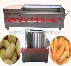 红薯脱皮机|毛刷清洗脱皮机|毛刷清洗机|清洗机设备