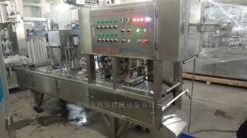 CFD-12全自动果冻饮料灌装机封口机