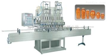 CHC-5直线式浓浆灌装机(洗瓶灌装生产线)