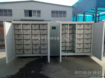 1500型号96筐箱体循环式豆芽机
