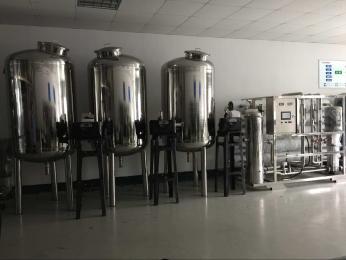 10T/H台州啤酒生产用水纯水净水反渗透设备