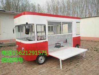 1000鑫盛 定制美食电动小吃车多功能美食快餐车街头流动快餐车