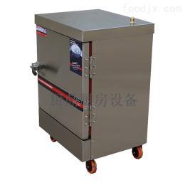 600*700*830mm商用厨房专用六盘燃气蒸饭柜