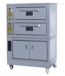 1210*750*1780mm新粵海兩層四盤不銹鋼電烤箱連發酵箱