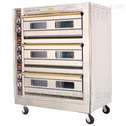 12250*770*1540mm恒聯三層六盤不銹鋼電烤箱