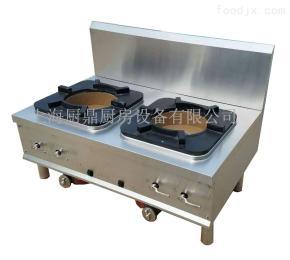 1200*650*800mm不銹鋼燃氣雙頭煲湯爐