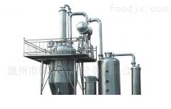 冷却浓缩器采用顺流或逆流冷却方式
