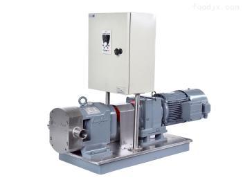 凸輪轉子泵變頻控制