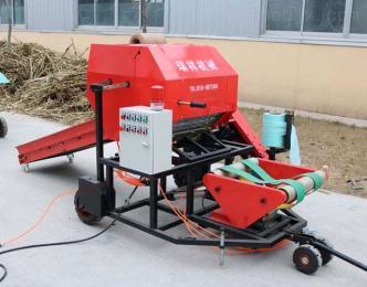 內蒙古秸稈壓捆機 稻草秸稈打包機