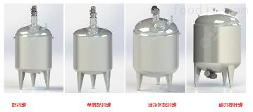 PZG系列配制罐、結晶罐