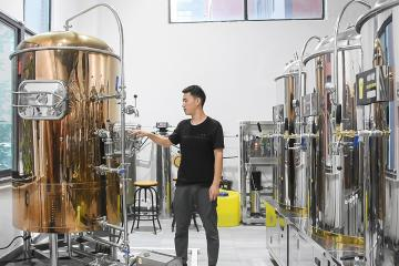 沧州精酿啤酒设备