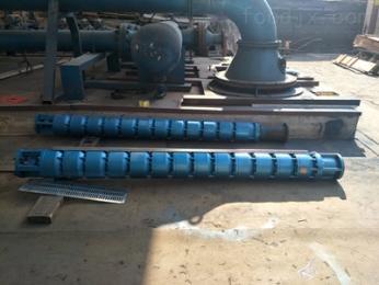 250QJR100-140-63KW天津耐温100度热水泵-热水潜水泵扬程