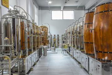 500L石家庄精酿啤酒设备