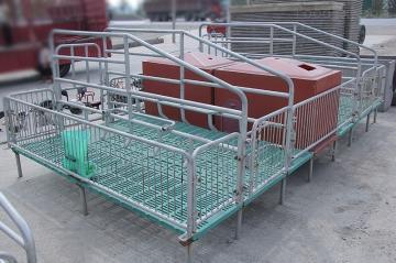 2.2*3.8米母豬產床