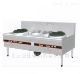 豪華雙炒雙溫工程灶 中餐燃氣炒菜灶