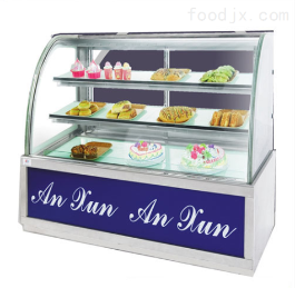 便利店保温展示柜|弧形食品柜