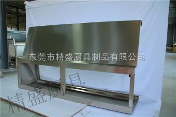 排煙罩為自廠生產加工 304不銹鋼廚具設備 節能環保廚具
