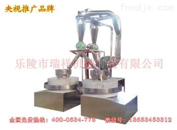 SM-1000-2圓篩石磨面粉機組(雙臺)-全自動石磨面粉機組
