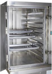 全自動燃氣節能蒸柜雙門