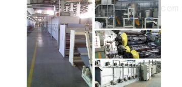 PE蓄电池隔板生产线